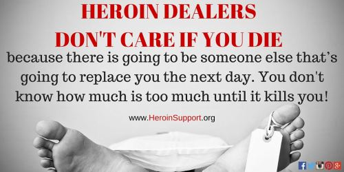 To My Son's Heroin Dealer